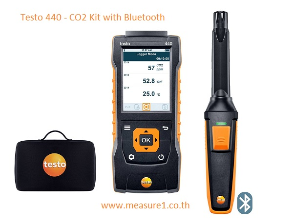 testo 440 CO2 Kit set